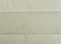 White crush effect conservatory blind fabric