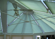 Conservatory roof and window blinds fitted at a time convenient to you